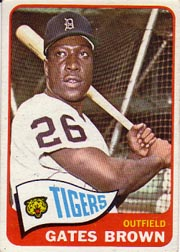 1965 Topps Baseball Cards      019      Gates Brown