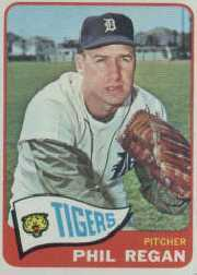 1965 Topps Baseball Cards      191     Phil Regan