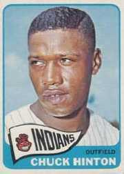 1965 Topps Baseball Cards      235     Chuck Hinton