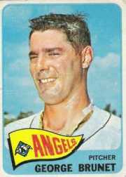 1965 Topps Baseball Cards      242     George Brunet