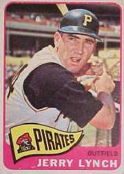 1965 Topps Baseball Cards      291     Jerry Lynch