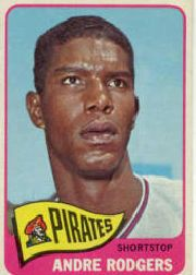 1965 Topps Baseball Cards      536     Andre Rodgers SP
