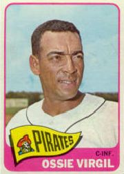 1965 Topps Baseball Cards      571     Ossie Virgil SP