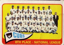 1965 Topps Baseball Cards      091      Chicago Cubs TC
