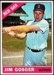1966 Topps Baseball Cards      114     Jim Gosger