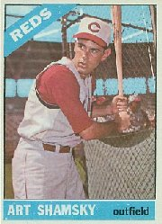 1966 Topps Baseball Cards      119     Art Shamsky