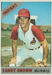 1966 Topps Baseball Cards      016      Larry Brown
