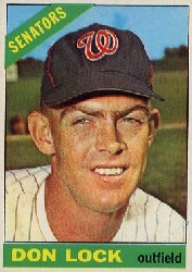 1966 Topps Baseball Cards      165     Don Lock
