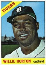 1966 Topps Baseball Cards      020      Willie Horton