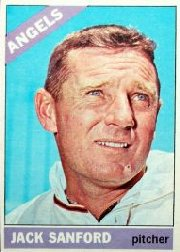 1966 Topps Baseball Cards      023      Jack Sanford