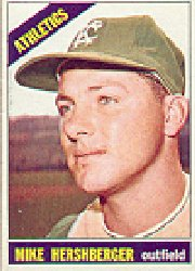 1966 Topps Baseball Cards      236     Mike Hershberger