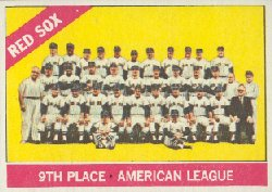1966 Topps Baseball Cards      259     Boston Red Sox TC