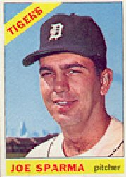1966 Topps Baseball Cards      267     Joe Sparma