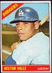 1966 Topps Baseball Cards      314     Hector Valle
