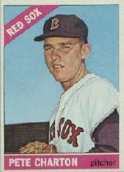 1966 Topps Baseball Cards      329     Pete Charton