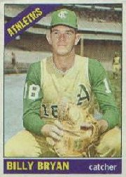 1966 Topps Baseball Cards      332     Bill Bryan