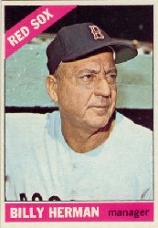 1966 Topps Baseball Cards      037      Billy Herman MG