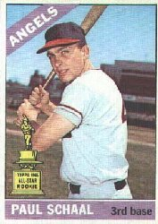 1966 Topps Baseball Cards      376     Paul Schaal