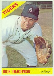 1966 Topps Baseball Cards      378     Dick Tracewski