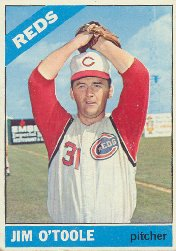 1966 Topps Baseball Cards      389     Jim O Toole