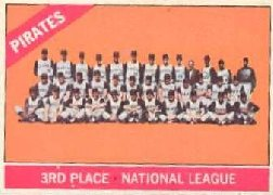 1966 Topps Baseball Cards      404     Pittsburgh Pirates TC