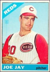 1966 Topps Baseball Cards      406     Joey Jay