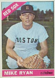 1966 Topps Baseball Cards      419     Mike Ryan