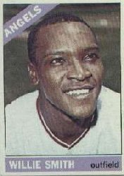 1966 Topps Baseball Cards      438     Willie Smith