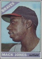1966 Topps Baseball Cards      446     Mack Jones