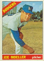 1966 Topps Baseball Cards      449     Joe Moeller