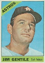 1966 Topps Baseball Cards      045      Jim Gentile