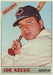 1966 Topps Baseball Cards      452     Joe Azcue