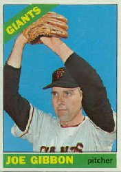 1966 Topps Baseball Cards      457     Joe Gibbon