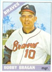 1966 Topps Baseball Cards      476     Bobby Bragan MG
