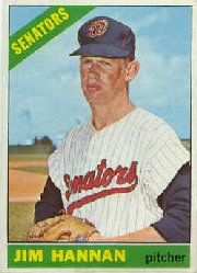1966 Topps Baseball Cards      479     Jim Hannan