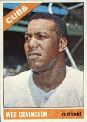 1966 Topps Baseball Cards      484     Wes Covington