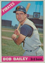 1966 Topps Baseball Cards      485     Bob Bailey
