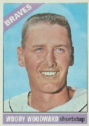 1966 Topps Baseball Cards      049      Woody Woodward
