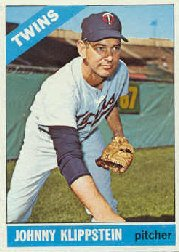 1966 Topps Baseball Cards      493     Johnny Klippstein