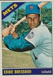 1966 Topps Baseball Cards      516     Eddie Bressoud
