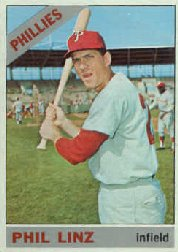 1966 Topps Baseball Cards      522     Phil Linz