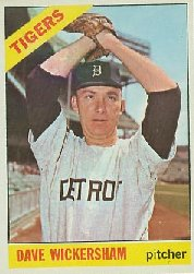 1966 Topps Baseball Cards      058      Dave Wickersham