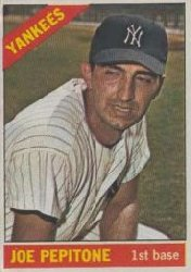 1966 Topps Baseball Cards      079      Joe Pepitone