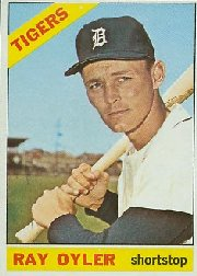 1966 Topps Baseball Cards      081      Ray Oyler