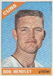 1966 Topps Baseball Cards      082      Bob Hendley