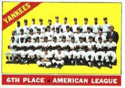 1966 Topps Baseball Cards      092      New York Yankees TC