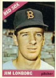 1966 Topps Baseball Cards      093      Jim Lonborg DP