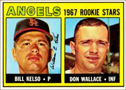 1967 Topps Baseball Cards      367     Rookie Stars-Bill Kelso-Don Wallace RC