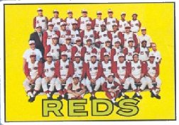 1967 Topps Baseball Cards      407     Cincinnati Reds TC