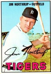 1967 Topps Baseball Cards      408     Jim Northrup